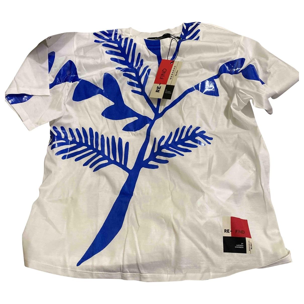 Max Mara Weekend - Top   pour femme en coton - bleu