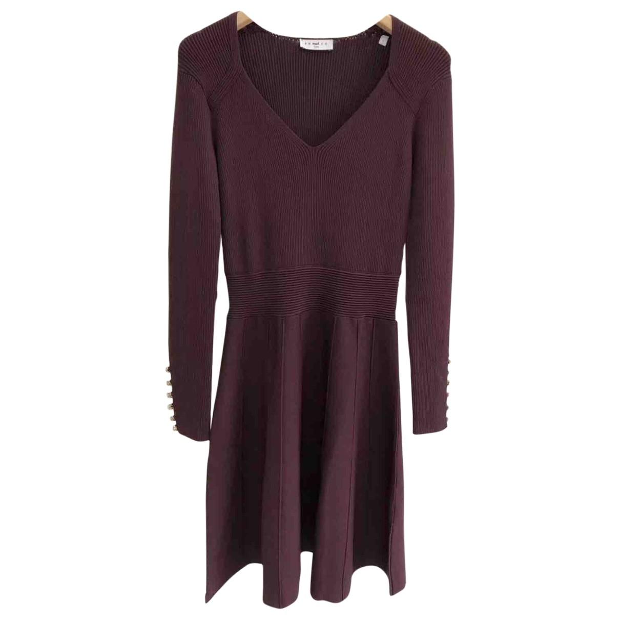 Sandro Spring Summer 2019 Purple dress for Women M International