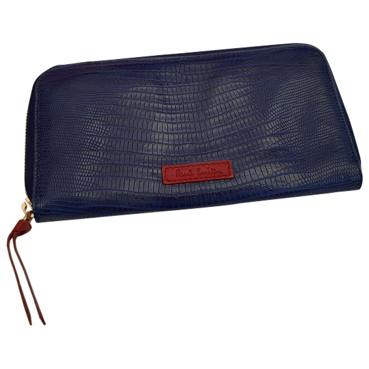Paul Smith \N Blue Leather Purses, wallet & cases for Women \N