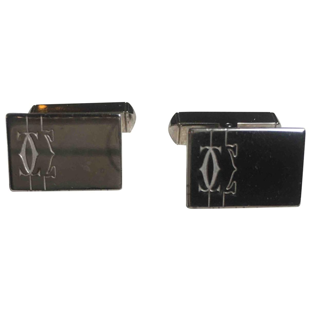 Cartier \N Silver Silver Cufflinks for Men \N