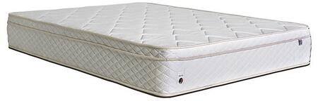 Bougainvilles Collection DM252CK-M 11 High Euro Top Extra Firm/ with Blue Gel Visco Memory Foam California King Mattress in