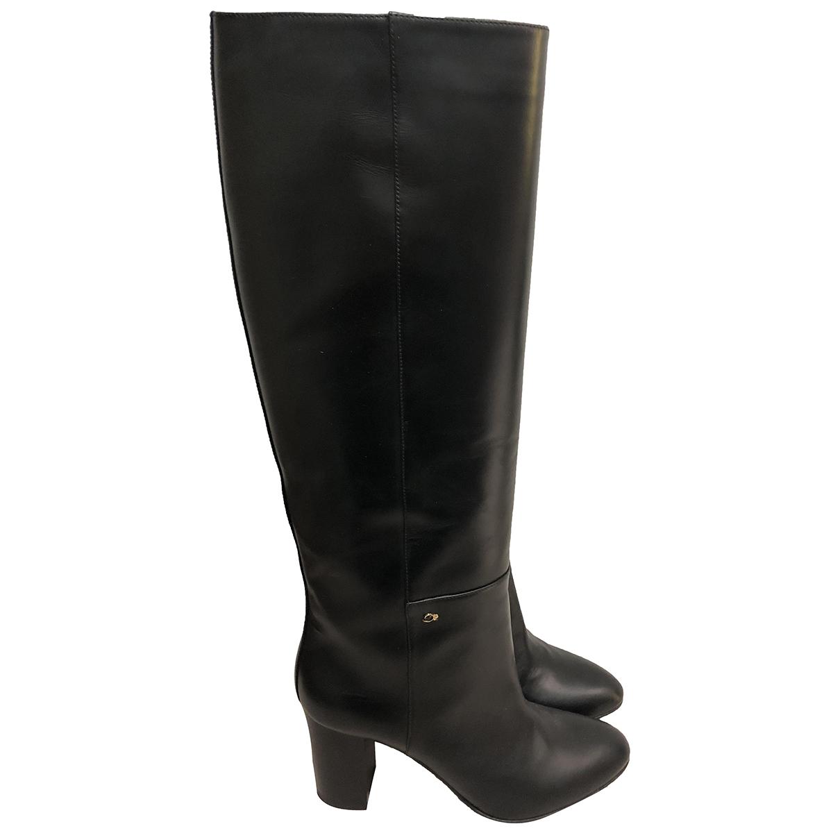 Dsquared2 \N Stiefel in  Schwarz Leder
