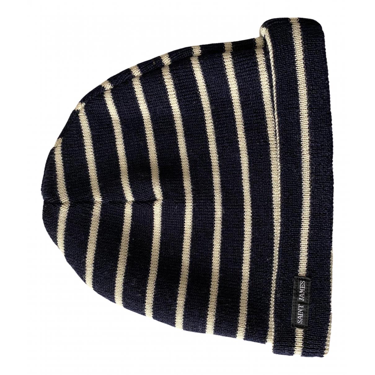 Saint James - Chapeau & Bonnets   pour homme en laine - bleu