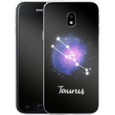 Samsung Galaxy J3 (2017) Silikon Handyhuelle - TAURUS von Becky Starsmore