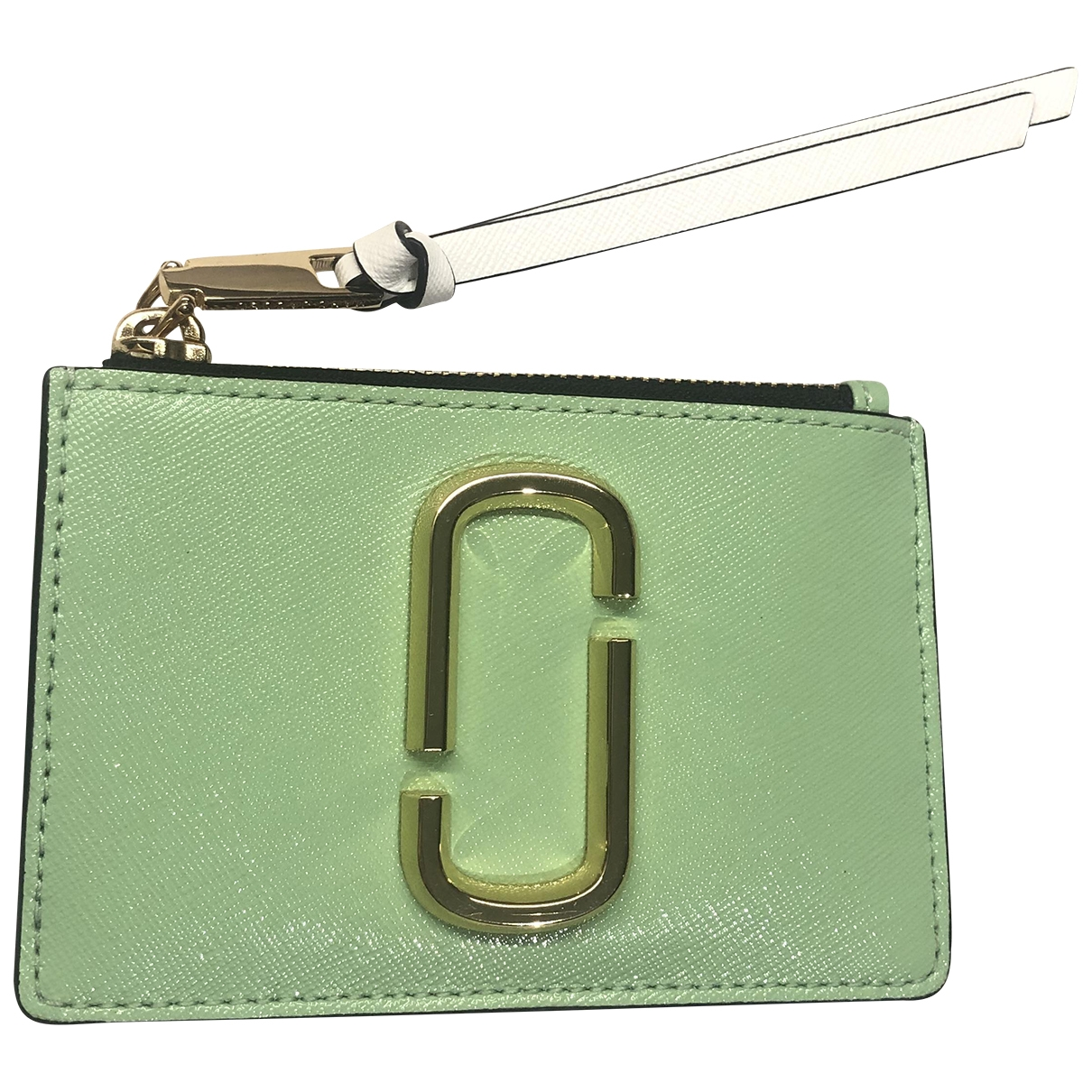 Marc Jacobs Snapshot Green Leather wallet for Women \N