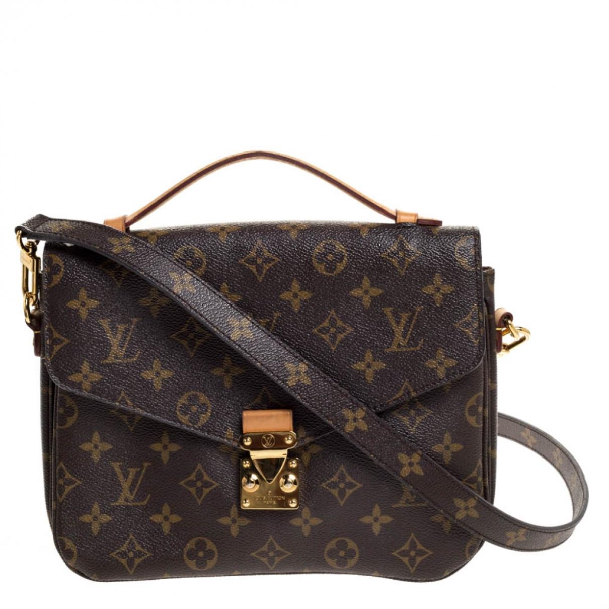 Louis Vuitton Metis Brown Cloth handbag for Women N