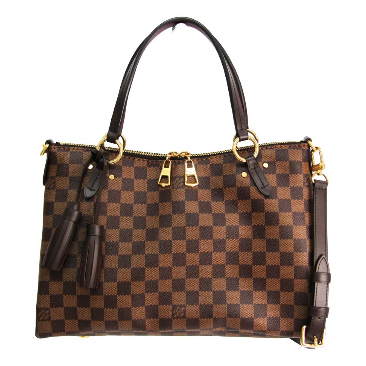 Louis Vuitton Lymington Brown Cloth handbag for Women \N