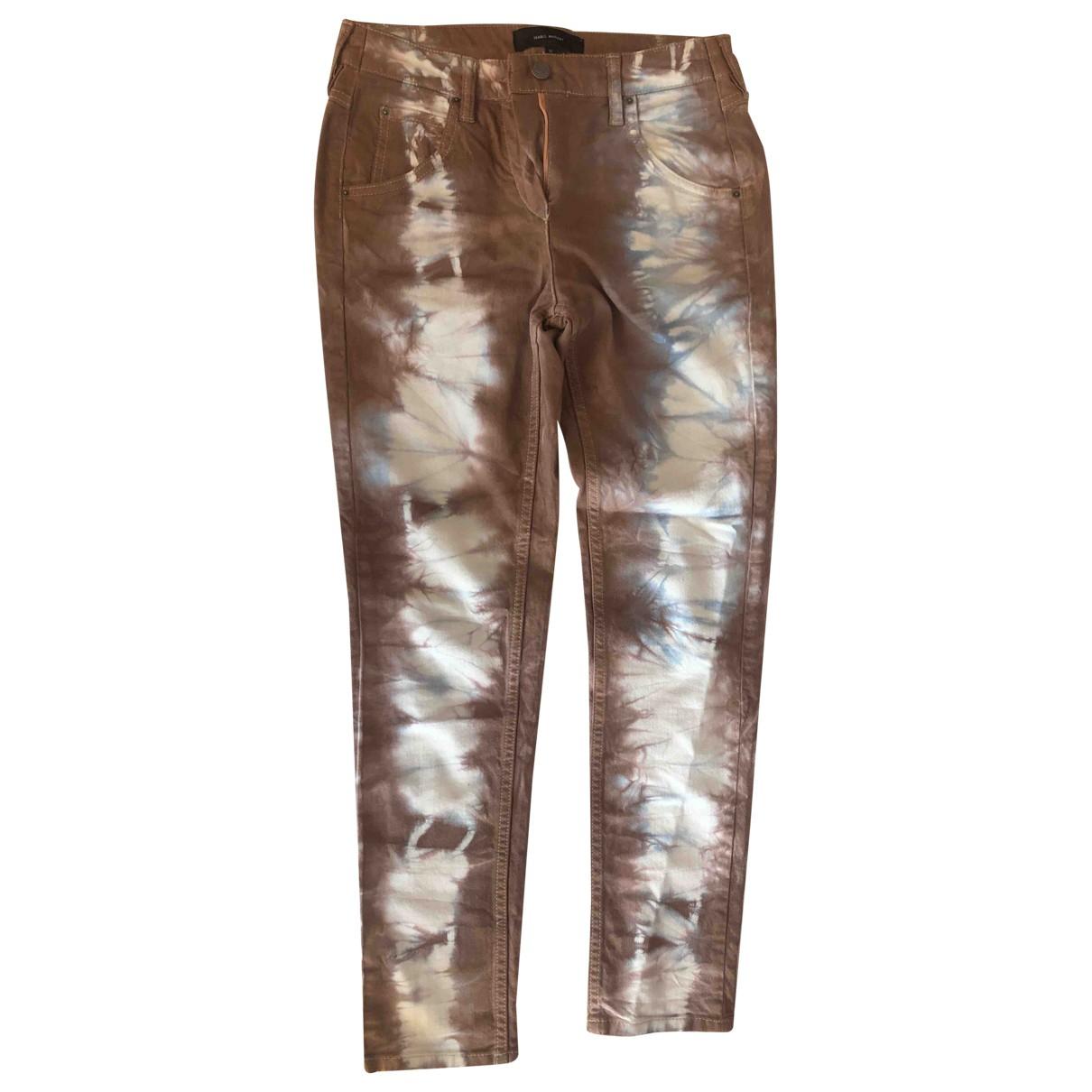 Isabel Marant \N Cotton - elasthane Jeans for Women 36 FR