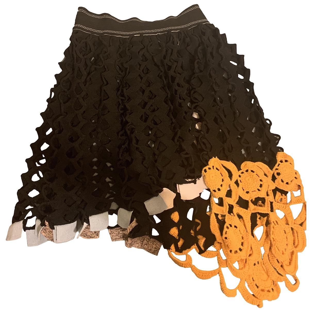 Mini falda de Lana Dior