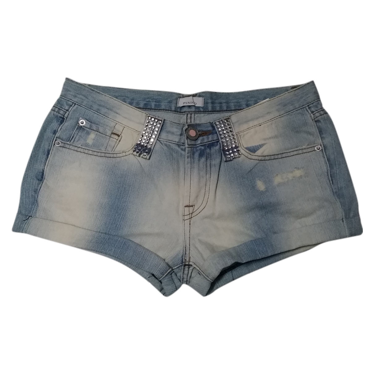 Pinko \N Shorts in Denim - Jeans