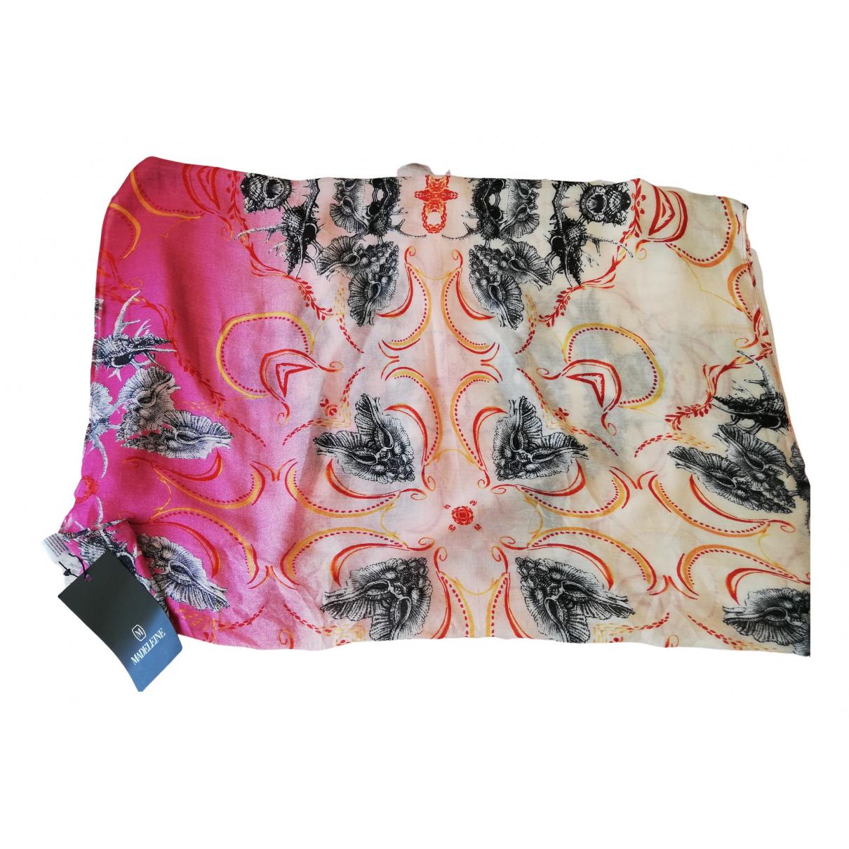 Madeleine Thompson - Foulard   pour femme en soie - multicolore