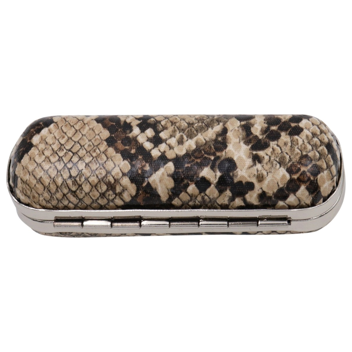 Non Signe / Unsigned \N Clutch in  Beige Metall