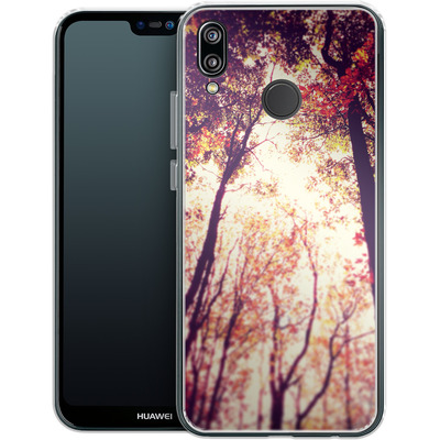 Huawei P20 Lite Silikon Handyhuelle - Above and Beyond von Joy StClaire