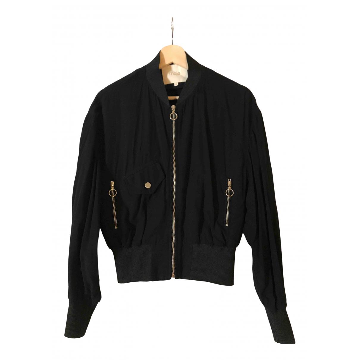 Maje \N Black jacket for Women 38 FR