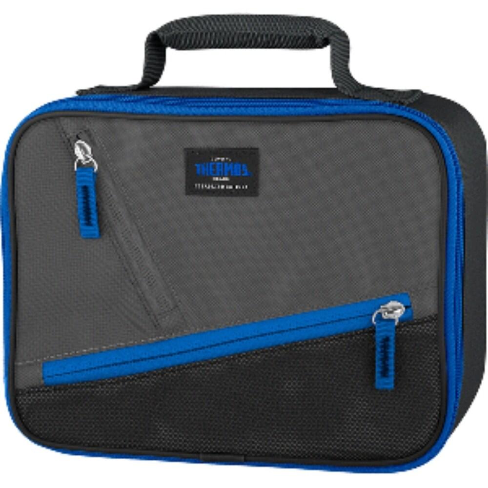 9 Blue and Black Multipurpose Thermos Berkley Standard Lunch Kit (Blue)