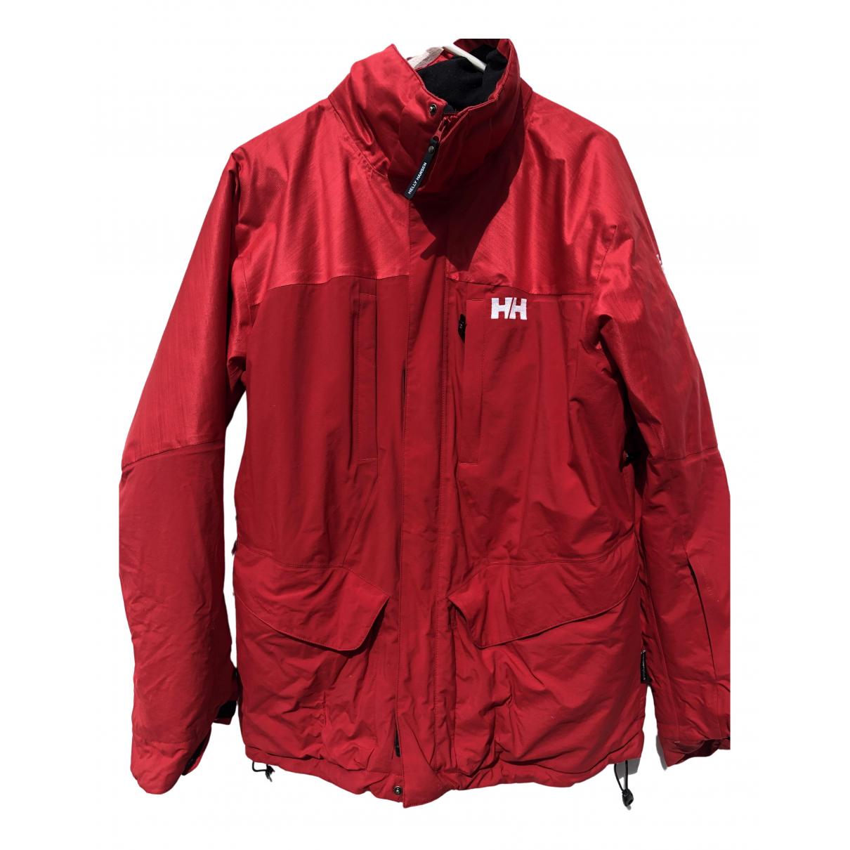 Helly Hansen - Manteau   pour homme - rouge