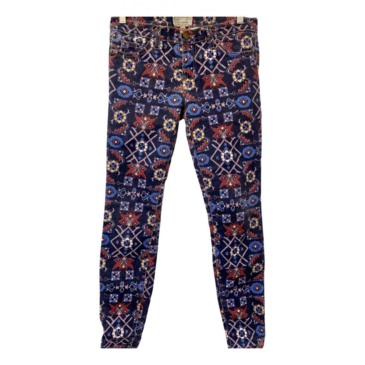 Current Elliott N Multicolour Denim - Jeans Jeans for Women 27 US