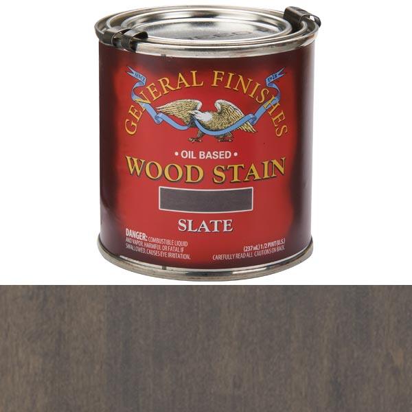 Slate Oil Stain 1/2 Pt