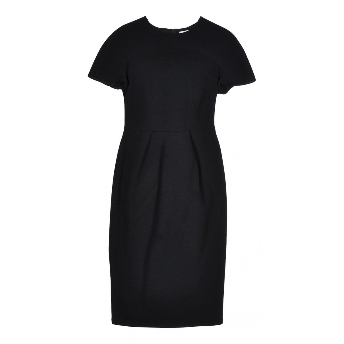 Ports 1961 \N Kleid in  Schwarz Wolle