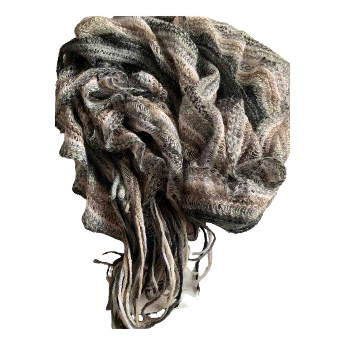 Missoni \N Schal in  Anthrazit Wolle
