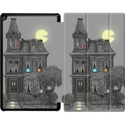 Amazon Fire HD 10 (2018) Tablet Smart Case - Haunted By The 80s von Terry Fan