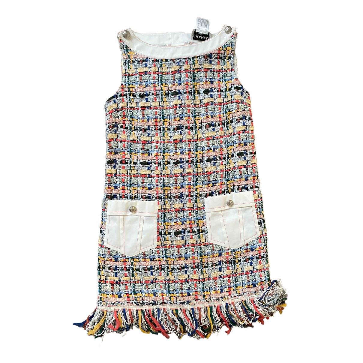Chanel N Multicolour Tweed dress for Women 42 FR