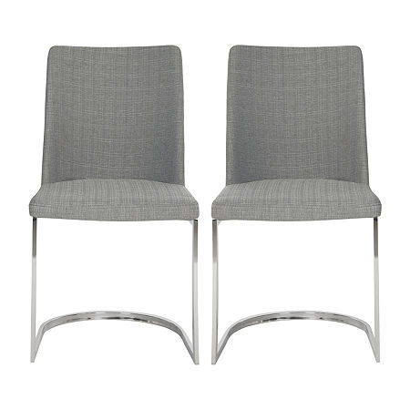 Parkston Dining Chair-Set of 2, One Size , Gray