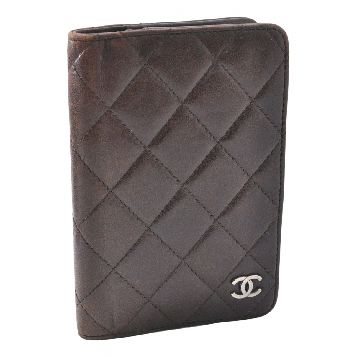 Chanel N Brown Leather Small bag, wallet & cases for Men N