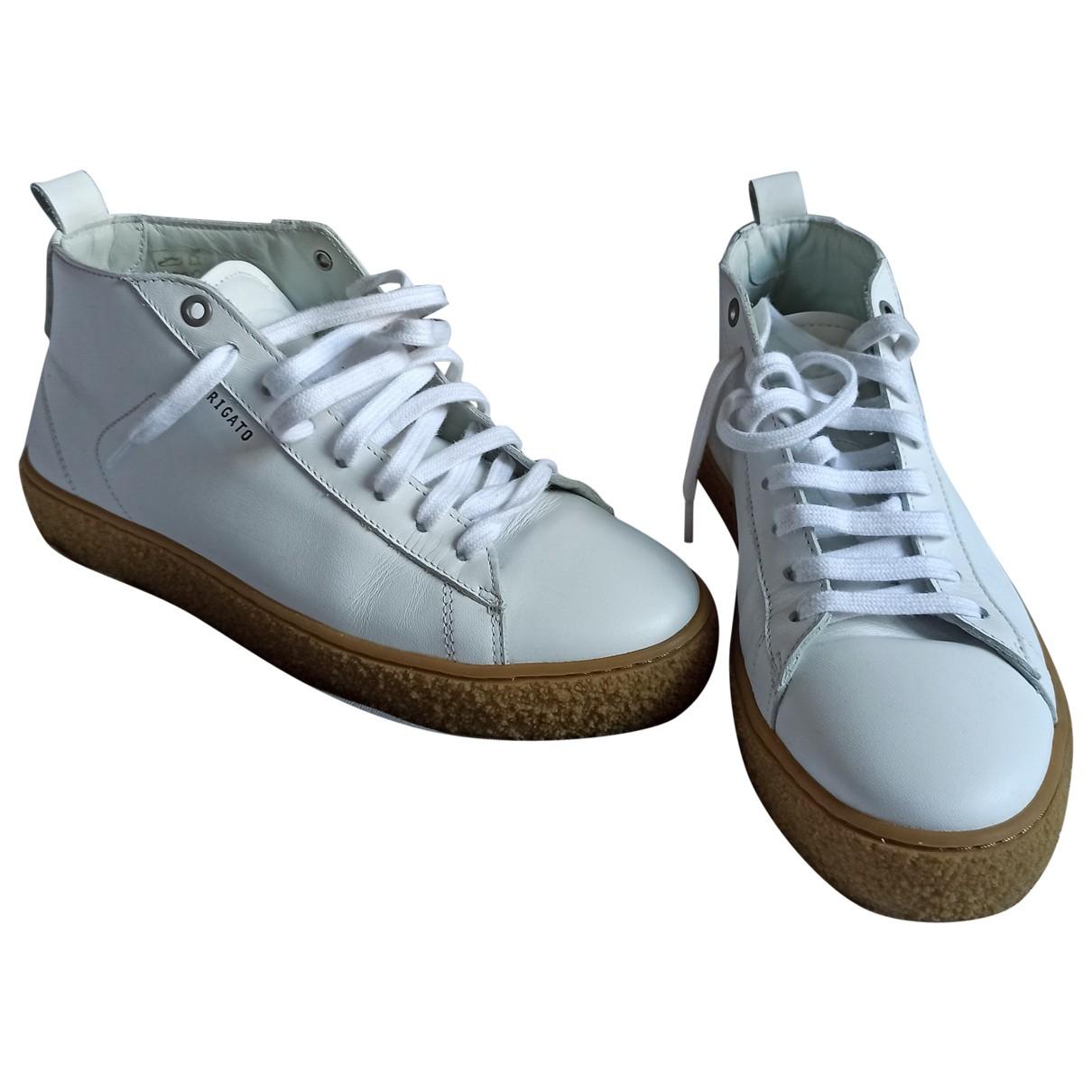 Axel Arigato \N Sneakers in  Weiss Leder
