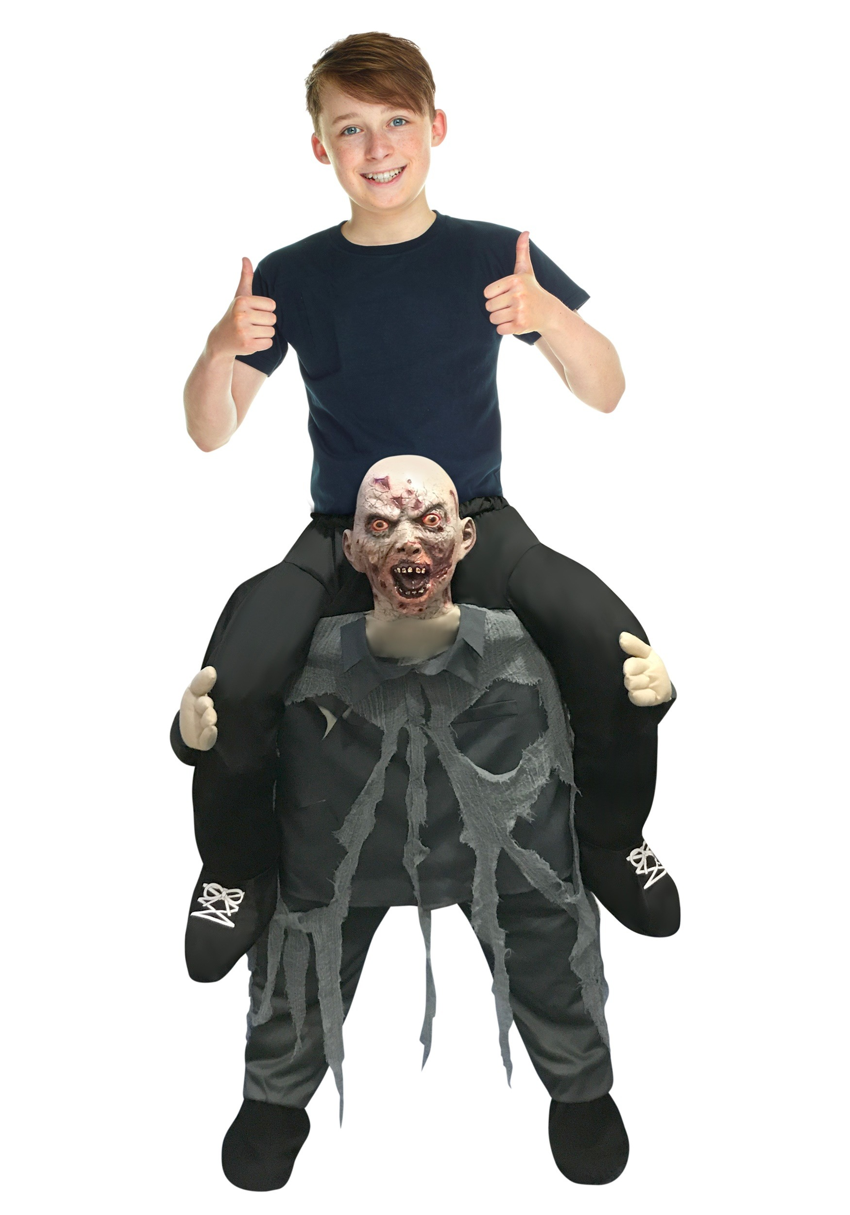 Zombie Piggyback Child Costume