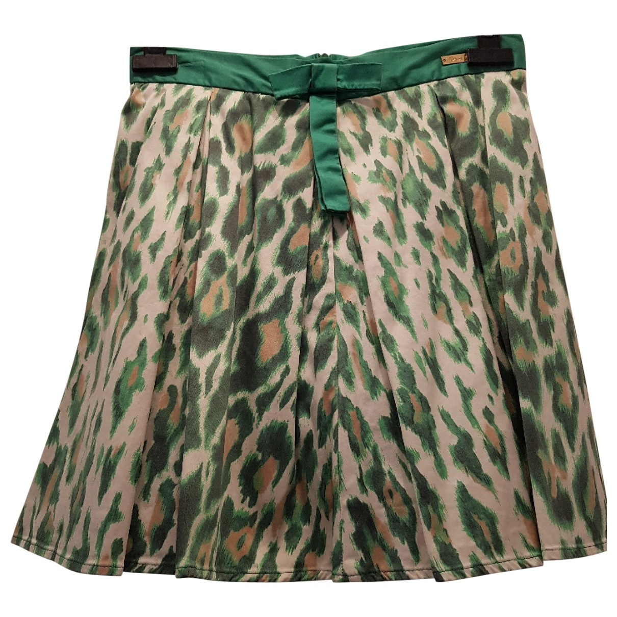 Dior \N Green Cotton skirt for Kids 12 years - XS FR