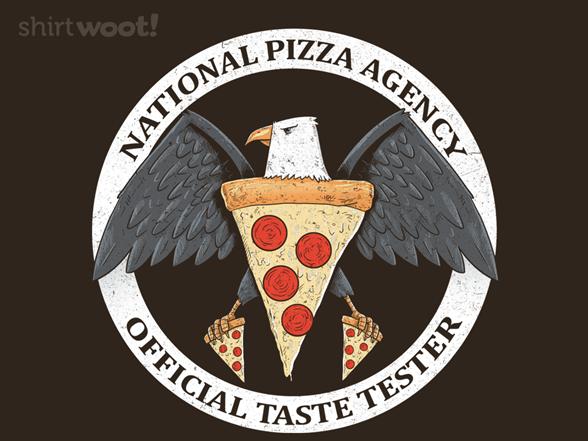 Pizza Taster T Shirt