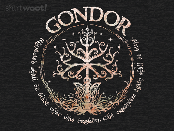 Gondor, Land Of Stone T Shirt