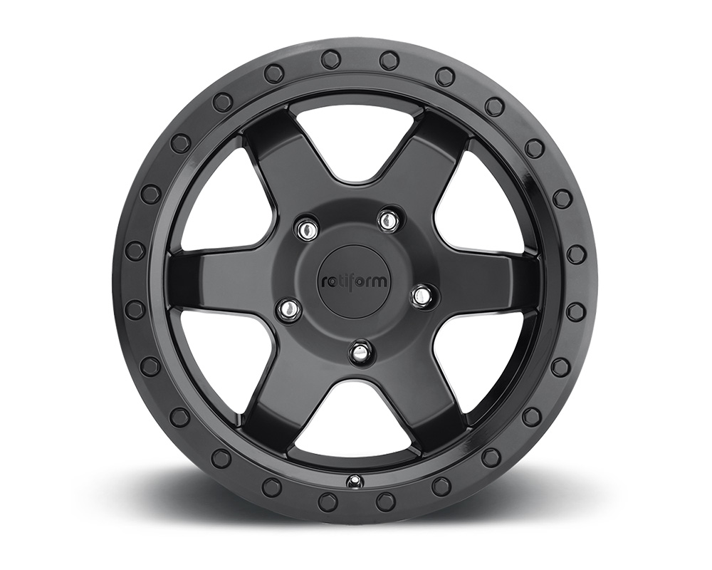 Rotiform R151209083+01 SIX-OR Matte Black Cast Monoblock Wheel 20x9 6x5.5 1mm