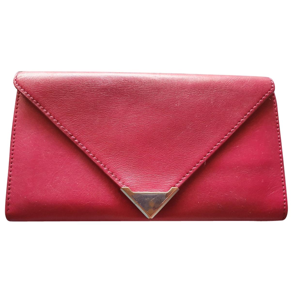 Alexander Wang - Portefeuille   pour femme en cuir - rose