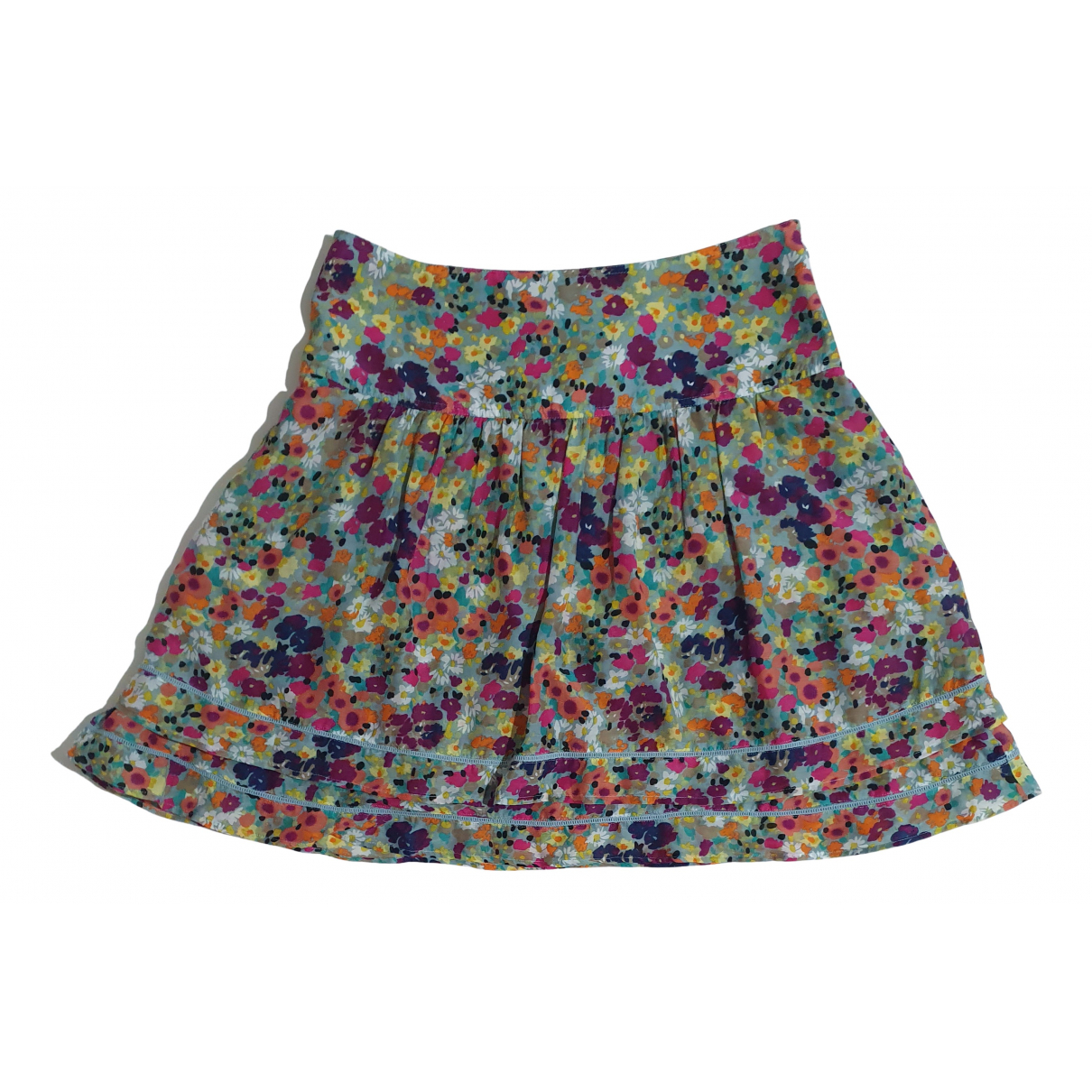 Essentiel Antwerp N Multicolour Cotton skirt for Women 40 FR