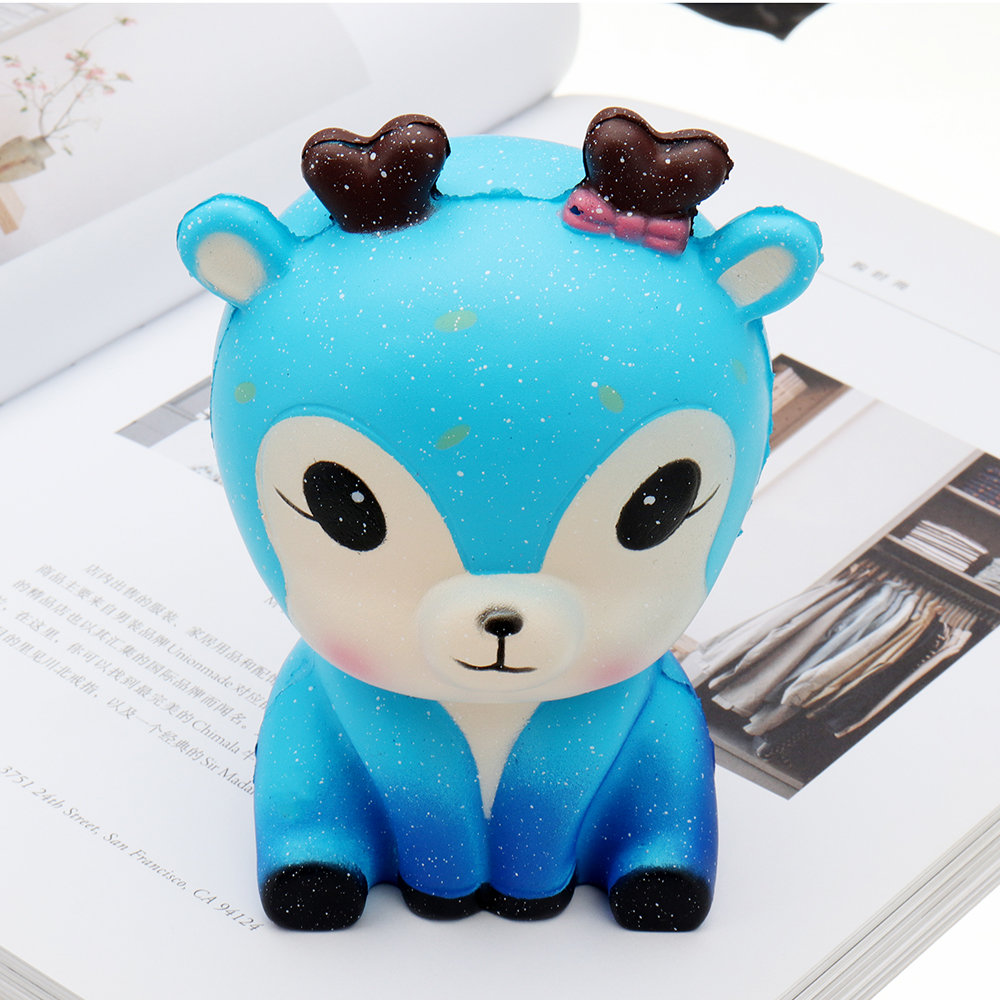 Kawaii Galaxy Fawn Squishy Slow Rising Collection Toy Soft Gift