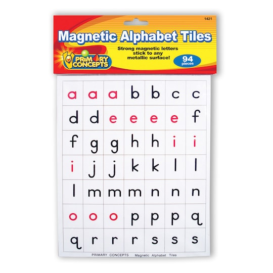 Magnetic Alphabet Tiles By Primary Concepts, Inc | Michaels®