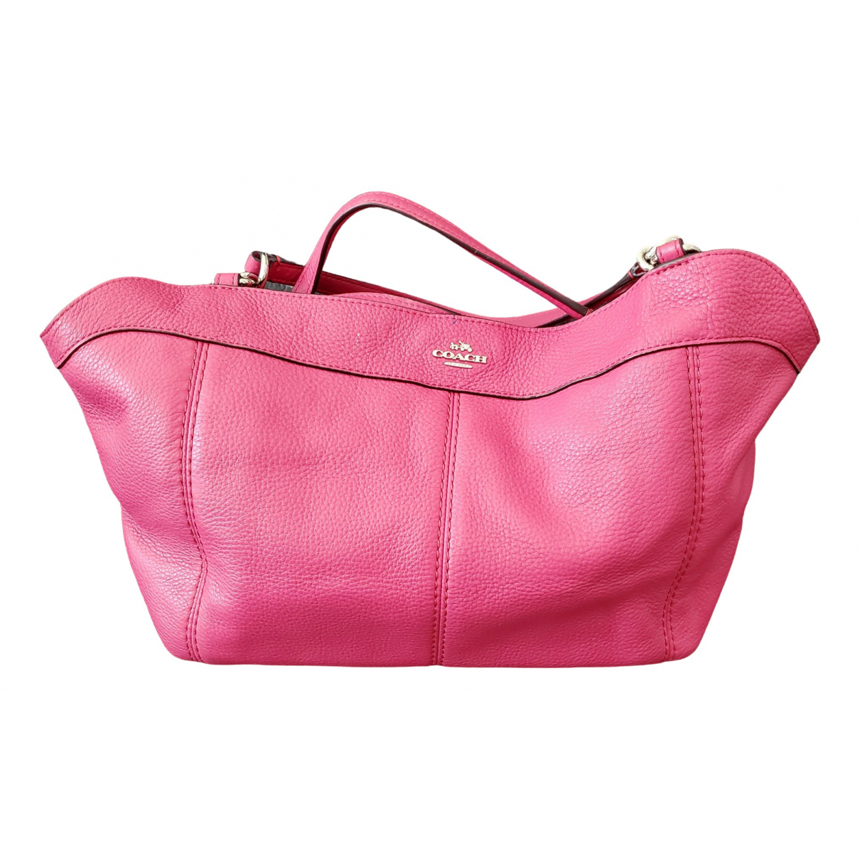 Coach Gramercy Satchel Pink Leather handbag for Women \N
