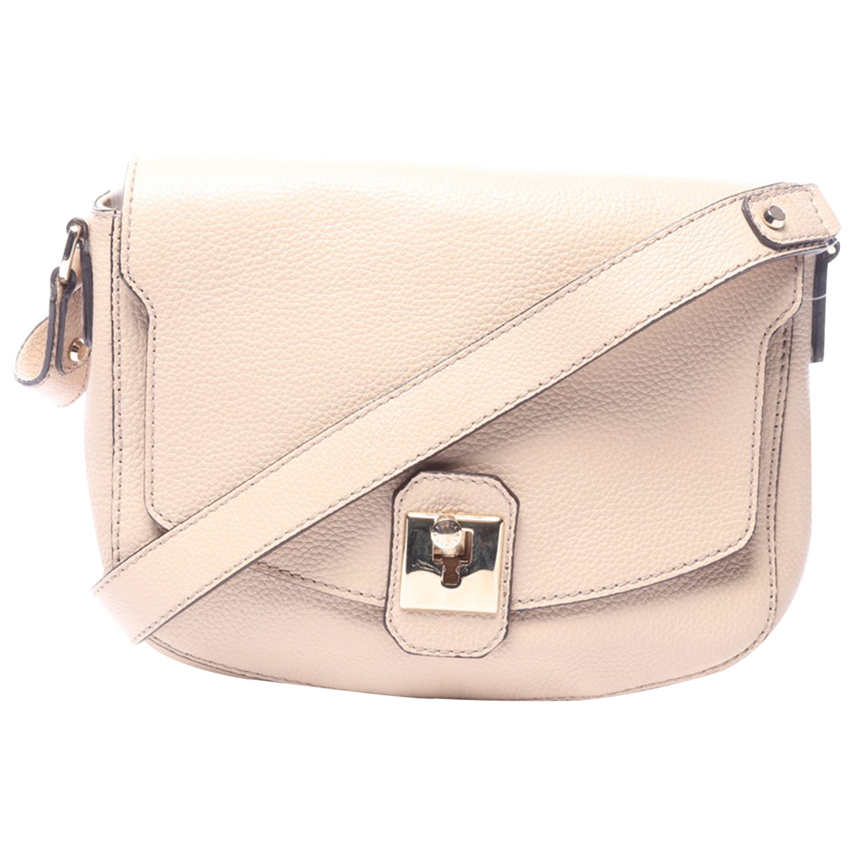 Furla N Beige Leather handbag for Women N