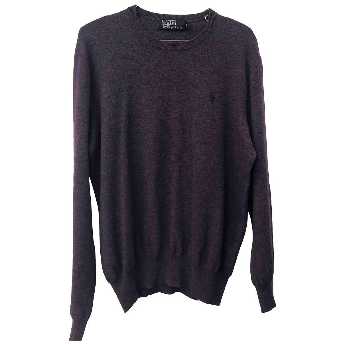 Polo Ralph Lauren \N Purple Wool Knitwear & Sweatshirts for Men M International