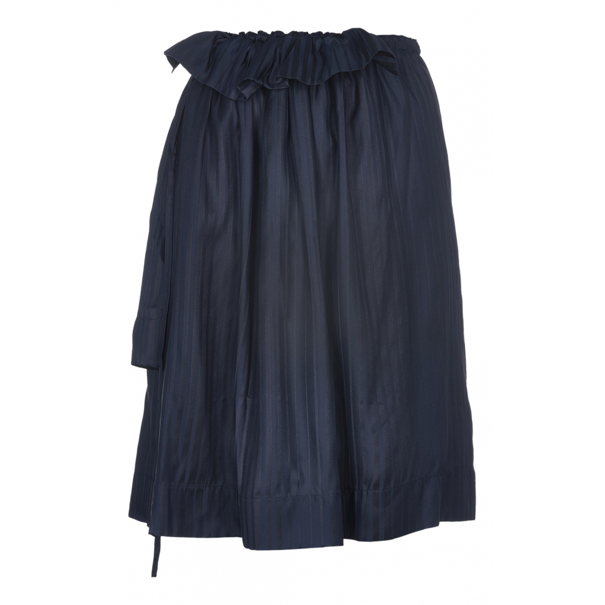 Stella Mccartney - Jupe   pour femme en soie - bleu