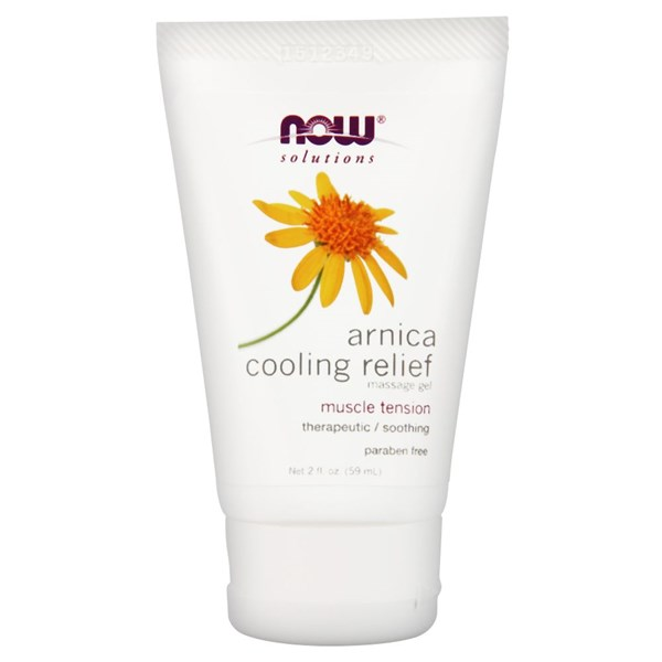 Arnica Cooling Relief Massage Gel 2 Oz by Now Foods