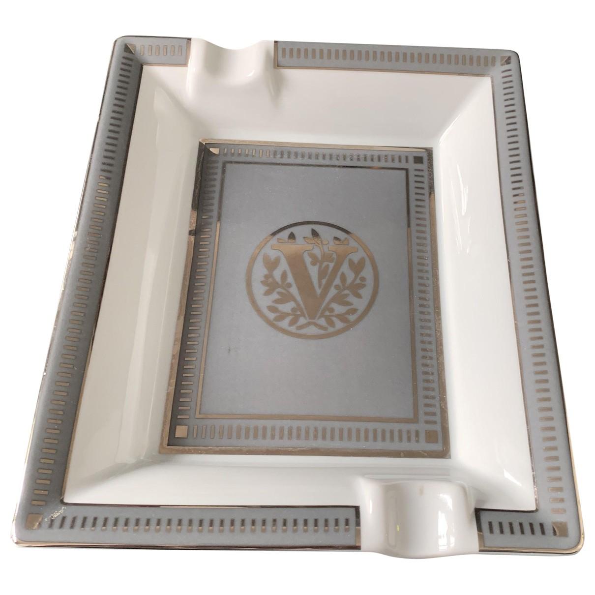 S.t. Dupont \N Accessoires und Dekoration in  Weiss Porzellan