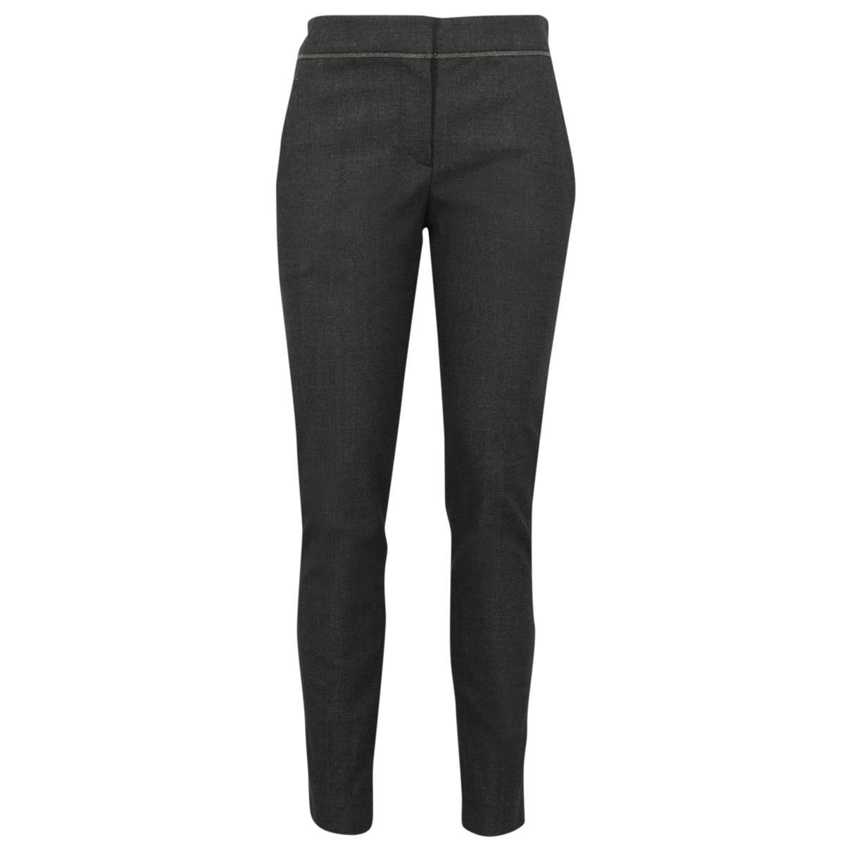 Pantalon de Lana Brunello Cucinelli
