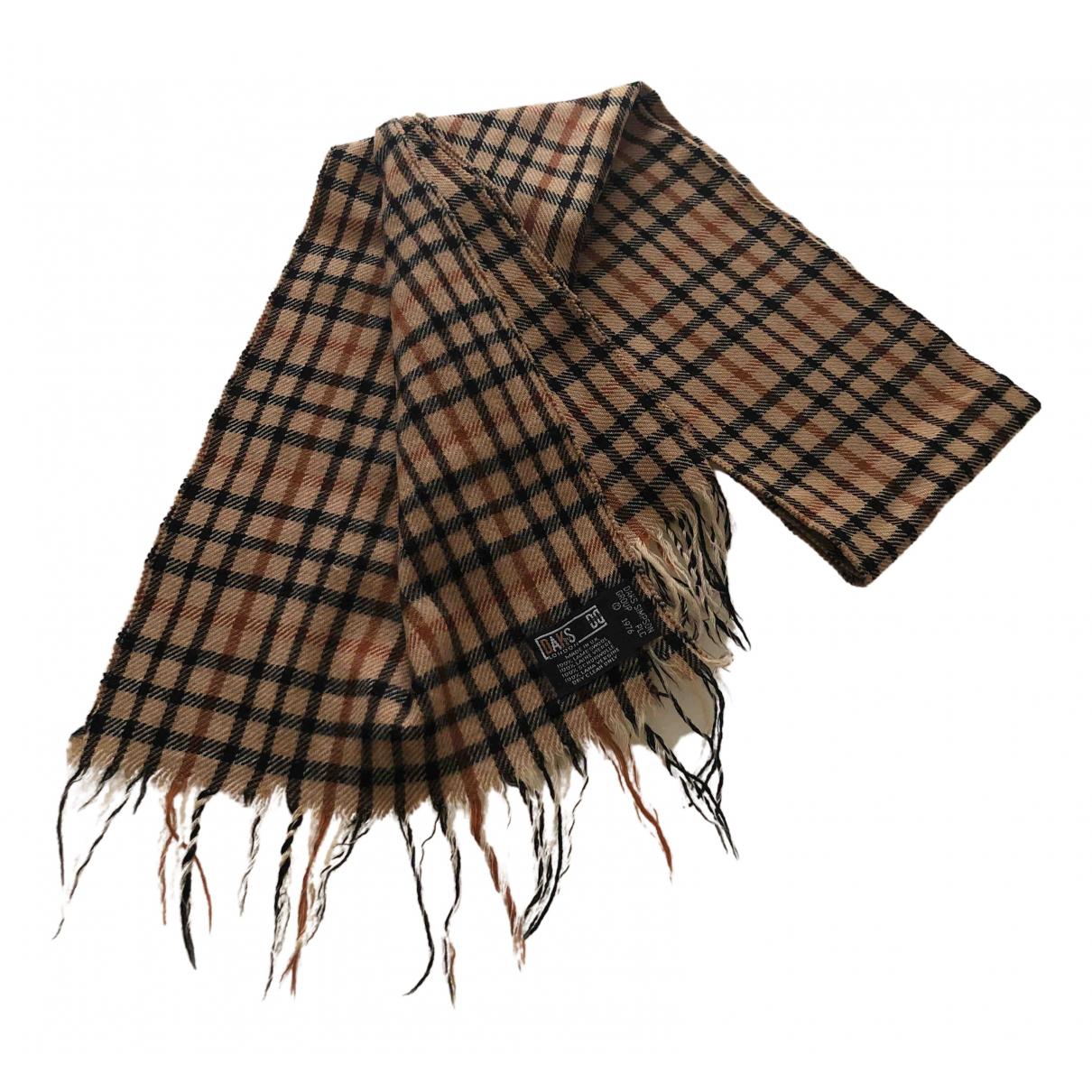 Daks \N Schal in  Kamel Wolle