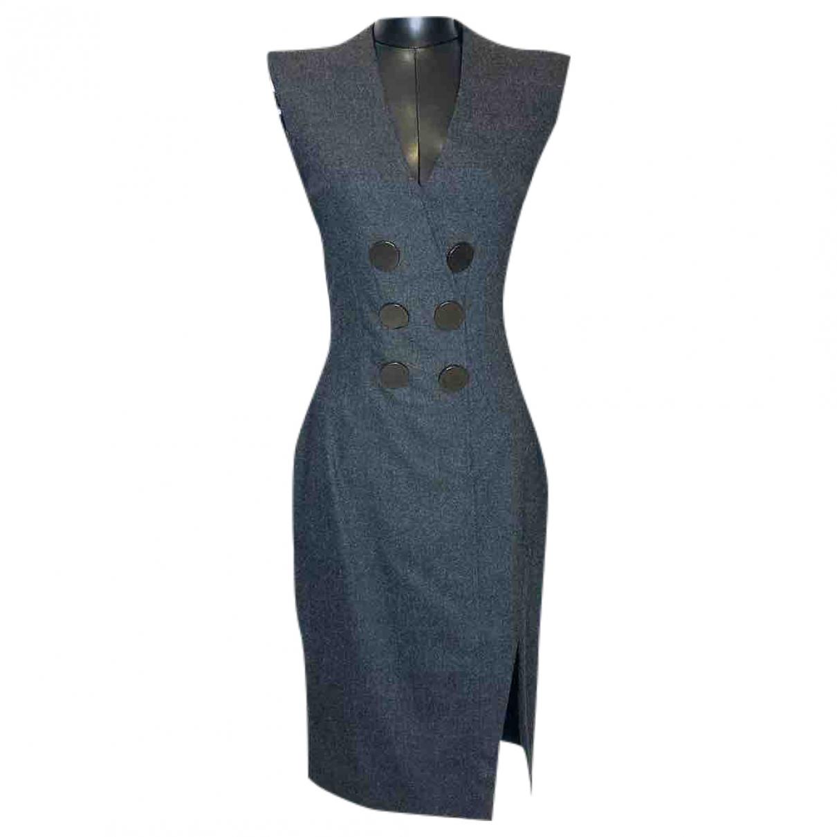 Altuzarra \N Kleid in  Grau Viskose