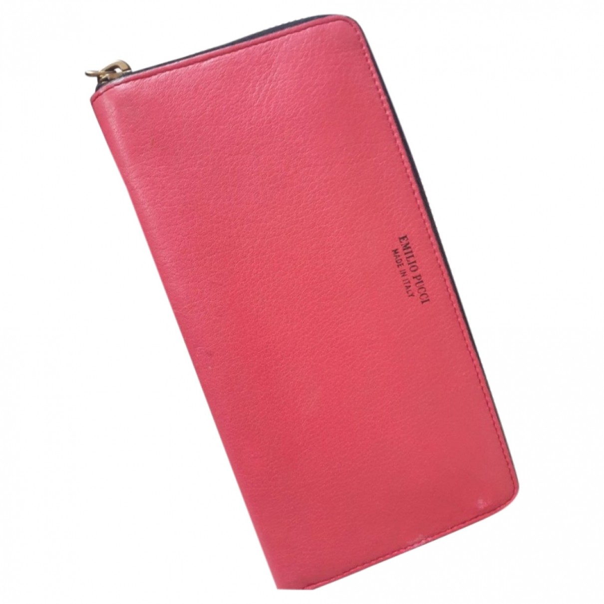 Emilio Pucci \N Pink Leather wallet for Women \N