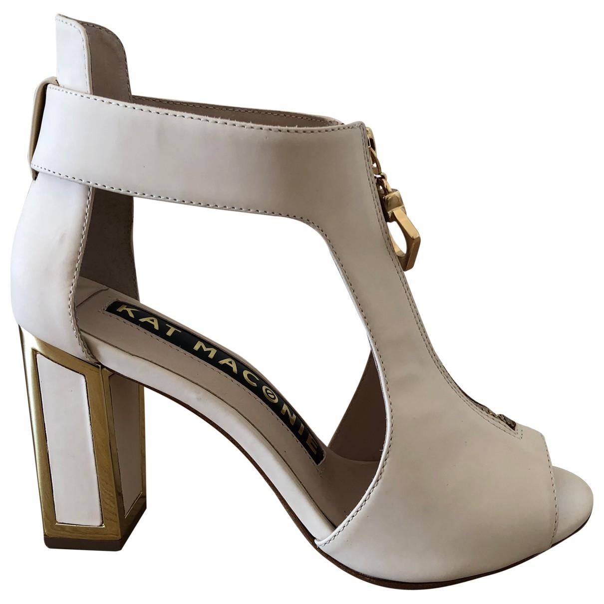 Sandalias de Cuero Kat Maconie