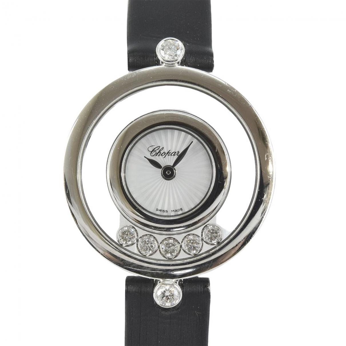 Chopard Happy Diamonds Uhr in  Silber Weissgold